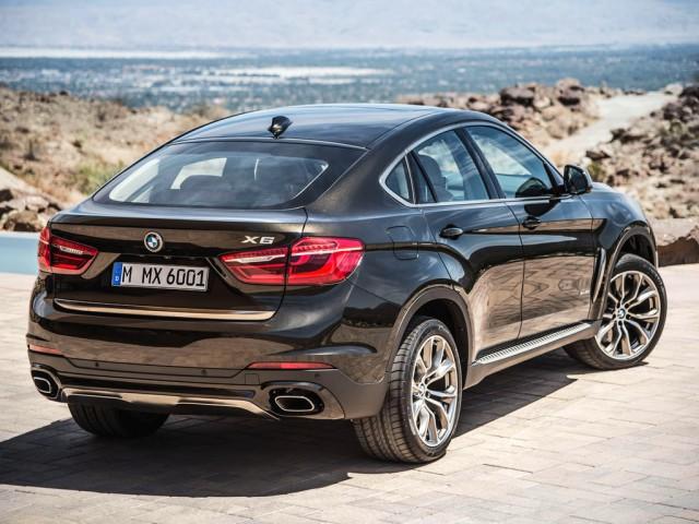 Начались продажи в России нового BMW X6