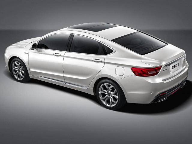 Geely намерен представить передовую модель седана GC9