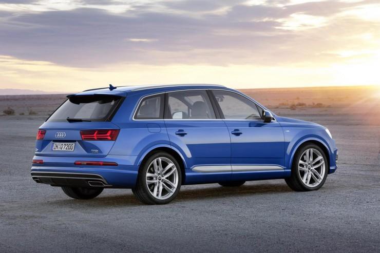 Audi продемонстрировала свой новый мегакроссовер