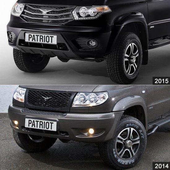 Отличия УАЗ Патриот 2015 от 2014