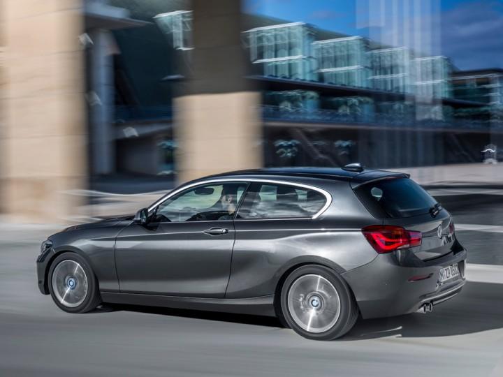 2015 BMW 1 Series рестайлинг