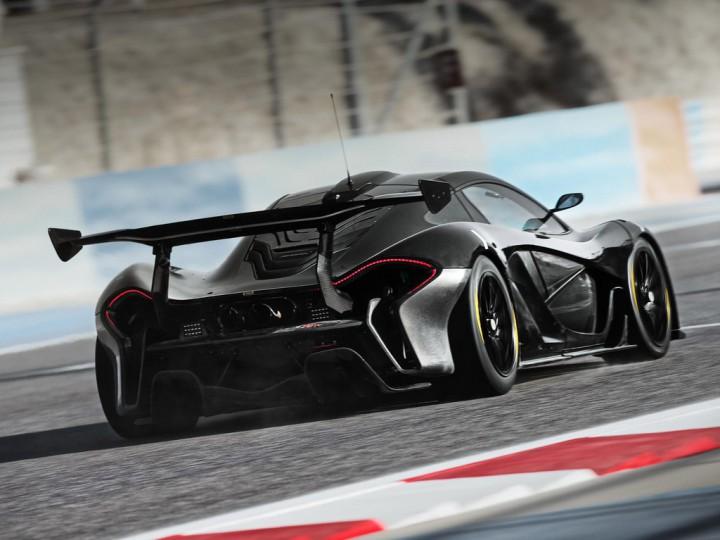Так, компания недавно завершила испытания McLaren P1 GTR на автодроме в Бах