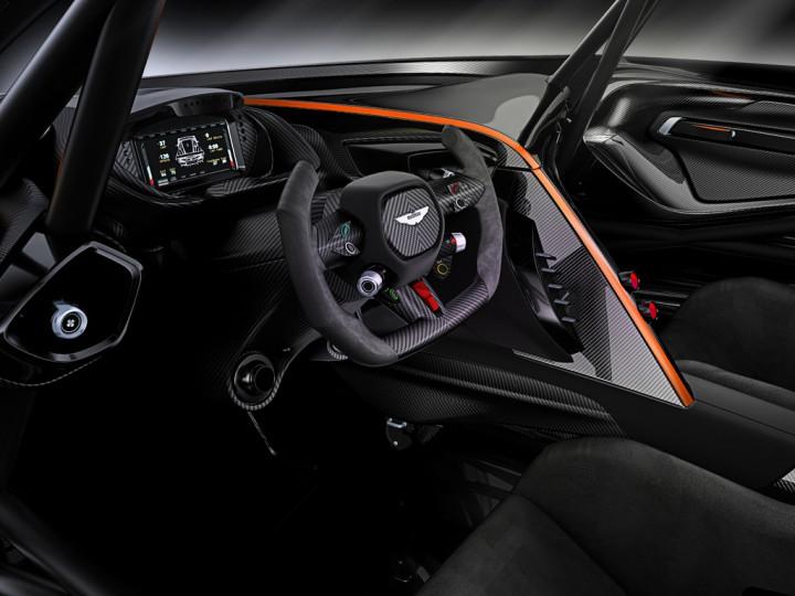 Aston Martin показал супермощный трековый гиперкар