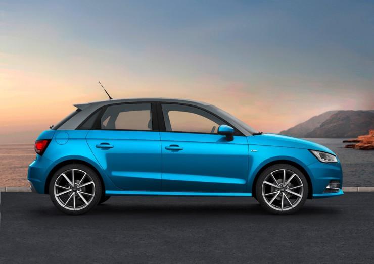 Стали известны цены на рестайлинговую Audi A1