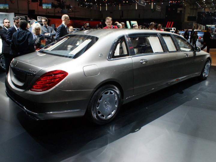 "Новый ""президентский"" Maybach S600 Pullman от Mercedes-Benz"