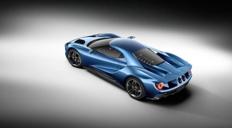 Ford представил Европейской публике свой новый суперкар