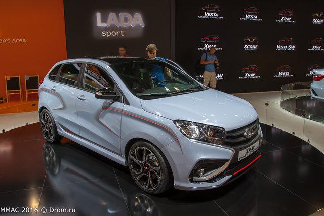 концепт Lada Xray Sport