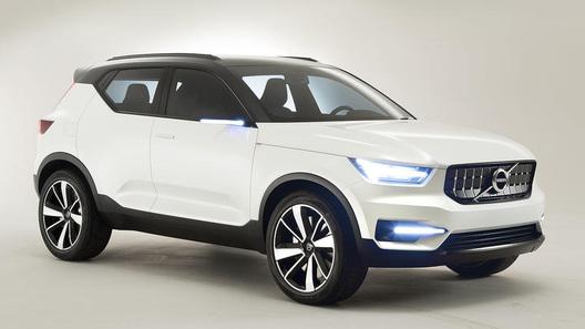 концепт Volvo 40.1
