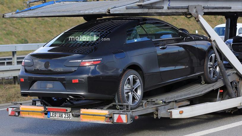 купе Mercedes-Benz E-класса