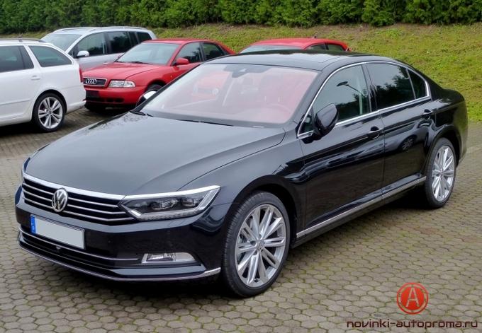 Тест-драйв Volkswagen Passat B8
