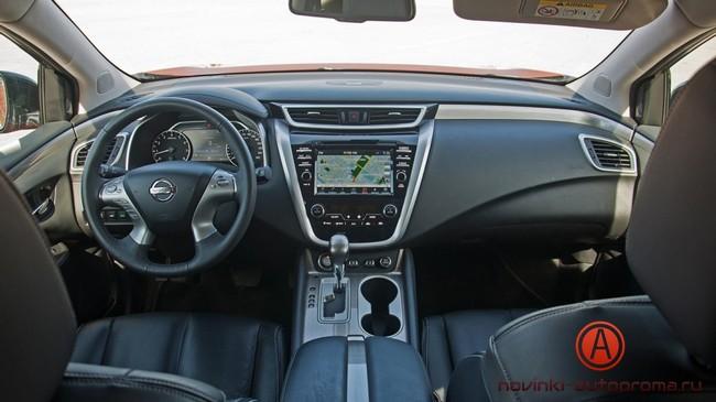 Тест-драйв Nissan Murano 3.5 V6 2016 года
