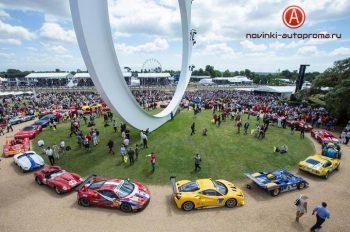 Фестиваль скорости в Гудвуде 2017