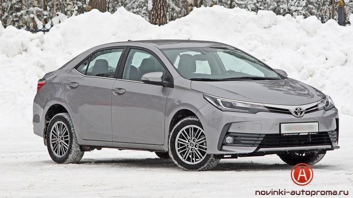 Тест-драйв Toyota Corolla 2018
