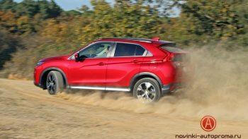 Тест-драйв Mitsubishi Eclipse Cross: кросс-купе в деле