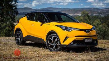 С 1 июня в РФ доступен кроссовер Toyota C-HR