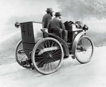 Когда появились шины?