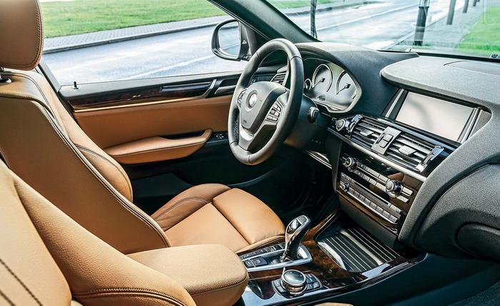 BMW-X4-2014 салон