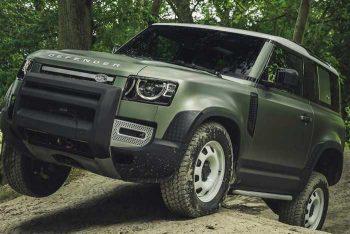 Новый Land Rover Defender тестируется в России