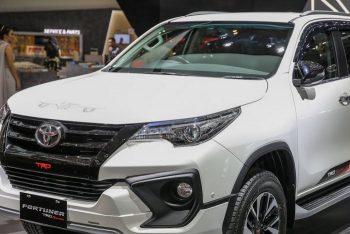 Рассекречен обновленный Toyota Fortuner