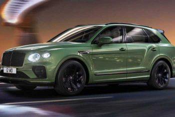 Обновился Bentley Bentayga