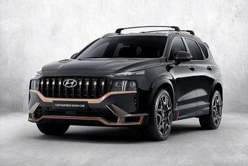 Представлен Hyundai Santa Fe в дизайне N Performance