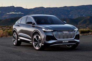 Перспективный электрический внедорожник от Audi