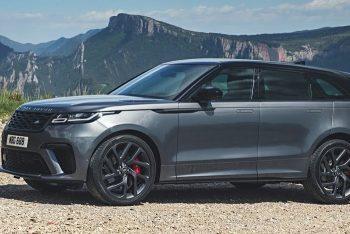Обновился Range Rover Velar