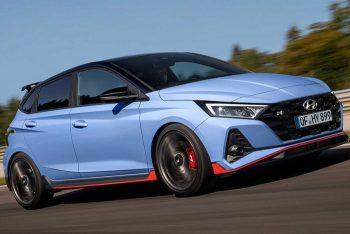 Мощная версия Hyundai i20 N оснащена 204-сильным двигателем
