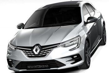 Седан Renault Megan прошел рестайлинг