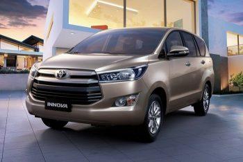 Обновленный Toyota Innova получил роскошную версию