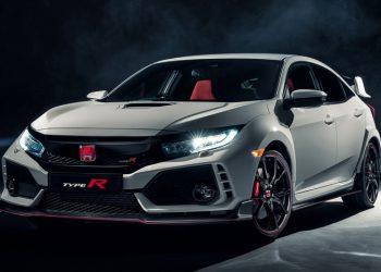 Появились данные об обновленной Honda Civic Type R