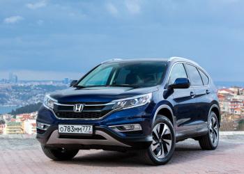Тест-драйв обновленной Honda CR-V