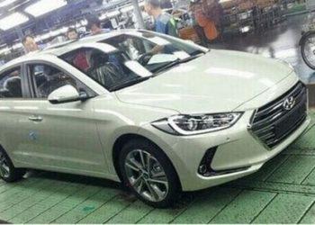 Автомобиль Hyundai Elantra 6-поколения: первые фото с конвейера