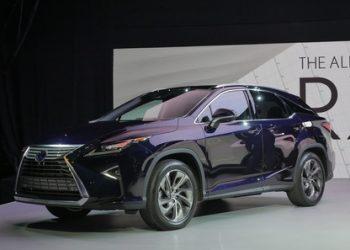 Обновленный Lexus RX на российском рынке появится 2016 году