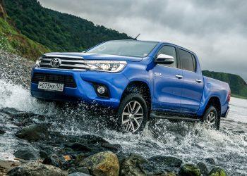 Тест-драйв Toyota Hilux 2016-2017