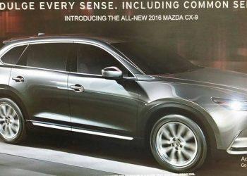 Дебют новой генерации кроссовера Mazda CX-9 состоится в ближайшие дни в Лос-Анджелесе
