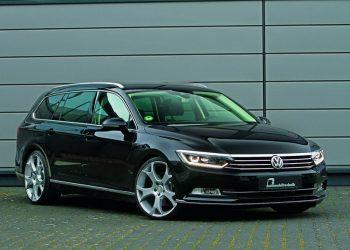 """Первый """"рестайлинг"""" нового Volkswagen Passat B8"""
