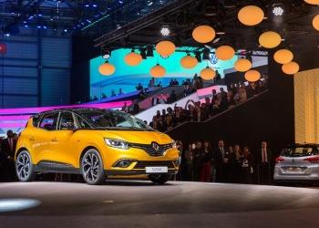 Renault Scenic 2016 на мотор-шоу в Женеве