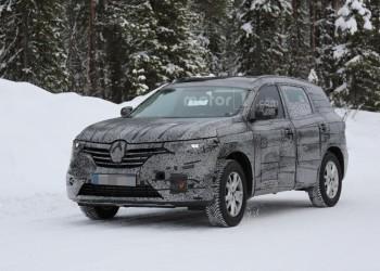 Внедорожник Renault Maxthon сфотографировали на дорожных тестах