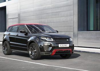 Range Rover Evoque в черно-красном кузове будет доступен российским покупателям