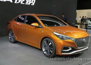 Концепт нового поколения Hyundai Verna продемонстрирован в Пекине