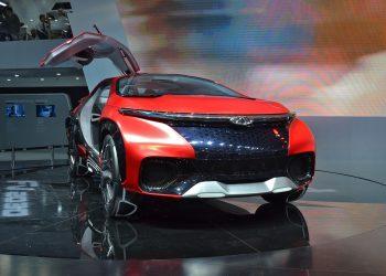 Футуристический концепт Chery FV2030 удивил публику Auto China