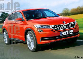 Чешский производитель расширит линейку моделей Skoda Kodiaq версией Coupe