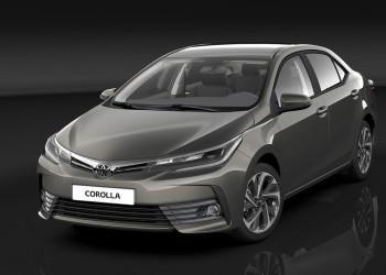 Toyota Corolla образца 2017 года: первые фото салона