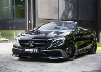 Немецкая тюнинговая компания Brabus  продемонстрировала самый скоростной кабриолет на базе Mercedes-AMG S 63