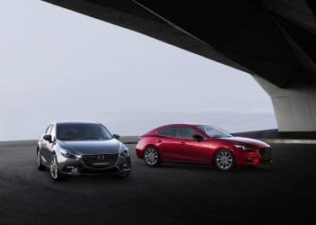 Обновленная модель Mazda 3 на фото и видео от разработчика