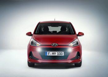 Официально опубликован фото анонс обновленной малолитражки Hyundai i10