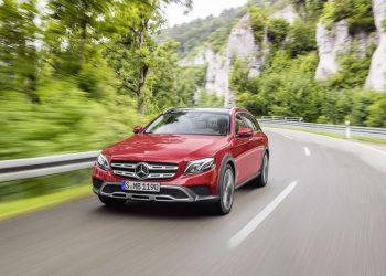 Кросс-версия Mercedes-Benz E-Class Estate All Terrain дебютирует в Париже