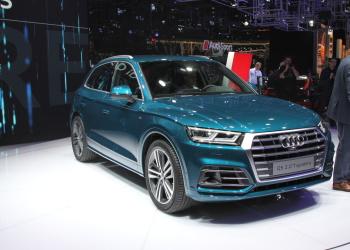 Сменивший поколение кроссовер Audi Q5 ожидается весной 2017 года