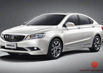 На рынке России появится новый седан от Jeely
